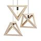 Hanging Wooden Lamp 3D Model - 3DOcean Item for Sale