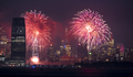 July 4th Celebration 2019 Jersey City and New York Skylines - PhotoDune Item for Sale