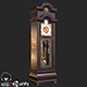 Old Antique Grandfather Clock PBR - 3DOcean Item for Sale