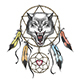 Wolf Head Native Americans Totem Symbol - GraphicRiver Item for Sale