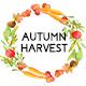 Watercolor Autumn Harvest Clip Art - GraphicRiver Item for Sale
