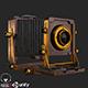 Old Antique Camera PBR - 3DOcean Item for Sale