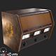 Old Antique Radio PBR - 3DOcean Item for Sale