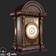 Old Antique Table Clock PBR - 3DOcean Item for Sale