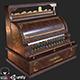 Old Antique Cash Register PBR - 3DOcean Item for Sale