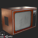 Retro Television 1970s PBR - 3DOcean Item for Sale