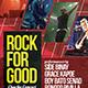 Rock for Good Flyer - GraphicRiver Item for Sale