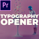 Stomp Typography Opener - VideoHive Item for Sale