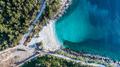 Marble beach (Saliara beach). Thassos island, Greece - PhotoDune Item for Sale