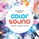 Color Sound CD Album Artwork - GraphicRiver Item for Sale