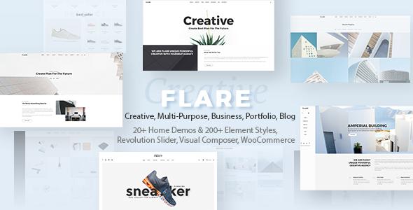 Flexible Multipurpose Theme | Flare