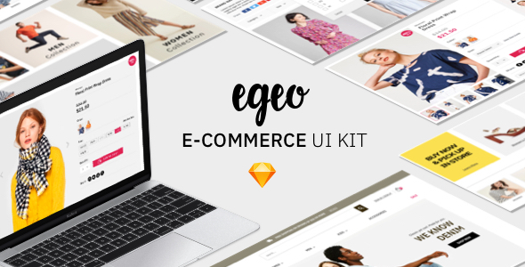 EGEO E-Commerce UI Kit