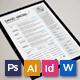 Resume/CV - Modern - GraphicRiver Item for Sale