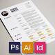 Resume/CV - Moon - GraphicRiver Item for Sale