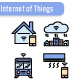 Internet of Things Icon Set - GraphicRiver Item for Sale
