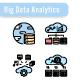 Big Data Analytics Icon Set - GraphicRiver Item for Sale