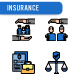 Insurance Icon Set - GraphicRiver Item for Sale
