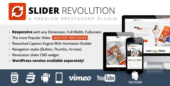 Slider Revolution Responsive Prestashop Moduł