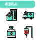 Medical equipment Icon Set - GraphicRiver Item for Sale