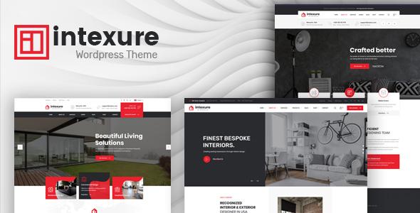 Intexure - Interior Design WordPress Theme