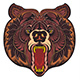 Angry Bear Head - GraphicRiver Item for Sale