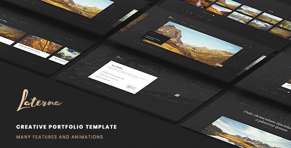 Laterna - Creative Portfolio Template