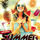 Summer Festival Party Flyer - GraphicRiver Item for Sale