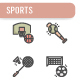 Sports Icon Set - GraphicRiver Item for Sale