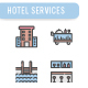 Hotel Services Icon Set - GraphicRiver Item for Sale