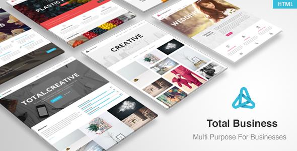 Total - MultiPurpose Business HTML Template