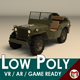 Low Poly Military Jeep 01 - 3DOcean Item for Sale