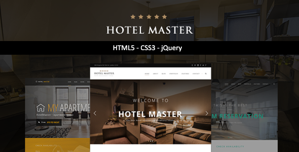 Hotel Master | HTML Template