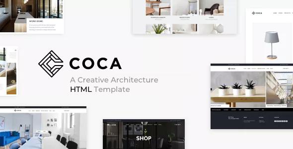 COCA - Architecture & Interior HTML Template