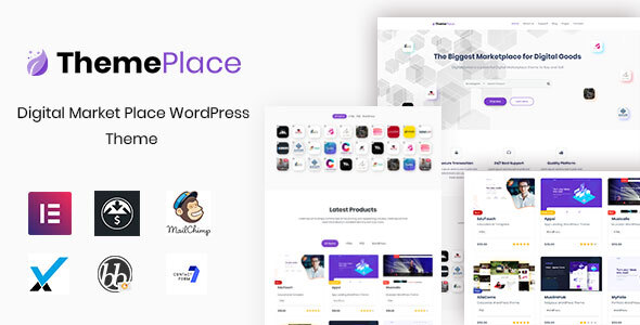 ThemePlace – Marketplace WordPress Theme Free Download