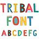 Tribal Alphabet Font - GraphicRiver Item for Sale