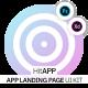 HitApp App Landing Page UI Kit - ThemeForest Item for Sale