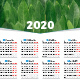 2020 Calendar Poster - GraphicRiver Item for Sale