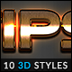 10 3D Styles vol. 23 - GraphicRiver Item for Sale