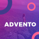 Advento - Travel One Page PSD - ThemeForest Item for Sale