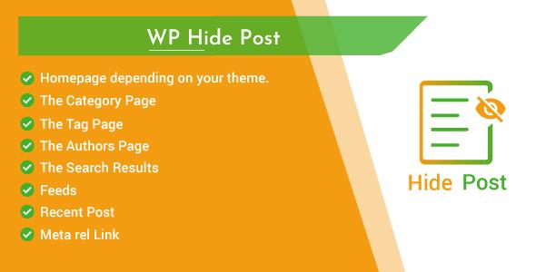 WordPress Hide Post