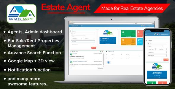 EstateAgent - Powerful Real Estate Management System Download