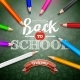 Back to School Design with Colorful Pencil - GraphicRiver Item for Sale