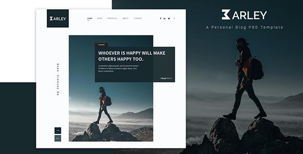 Barley – Creative Personal WordPress Blog Theme Free Download