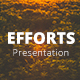 Efforts Power Point Presentation Template - GraphicRiver Item for Sale