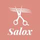 Salox | Hair Salon WordPress Theme - ThemeForest Item for Sale