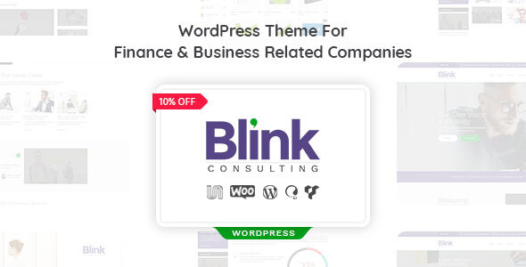 Blink - Finance and Accounts Business WordPress Theme