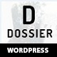 Dossier - Business Portfolio WordPress Theme - ThemeForest Item for Sale