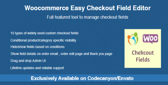Codecanyon | Woocommerce Easy Checkout Field Editor Free Download #1 free download Codecanyon | Woocommerce Easy Checkout Field Editor Free Download #1 nulled Codecanyon | Woocommerce Easy Checkout Field Editor Free Download #1