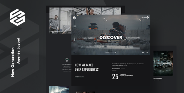 Tourog | Creative Agency WordPress Theme