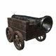 Cannon car level 1 - 3DOcean Item for Sale
